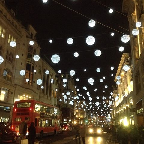 Oxford St Xmas lights