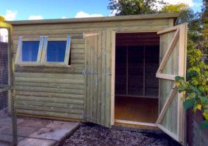 New rabbit house arrives